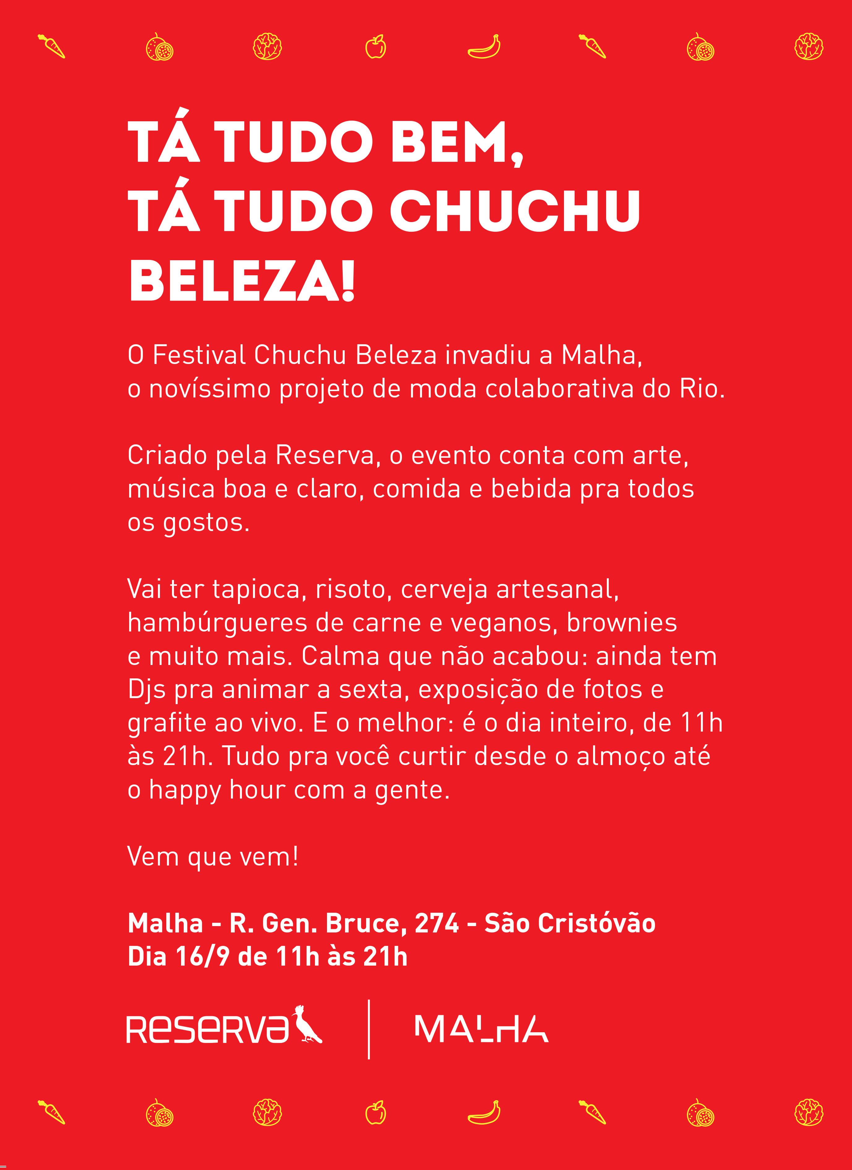 FESTIVAL CHUCHU BELEZA – Família Reserva